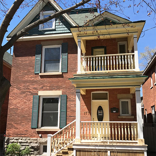 Glebe Porch Renovation
